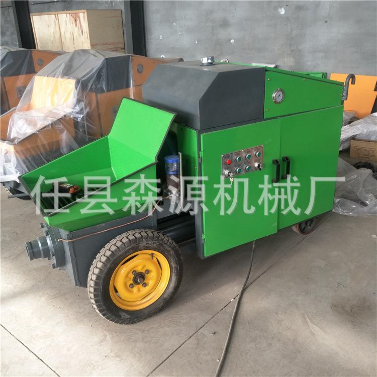 小型混凝土搅拌泵车 车载式混凝土输送泵砂浆输送上料机示例图10
