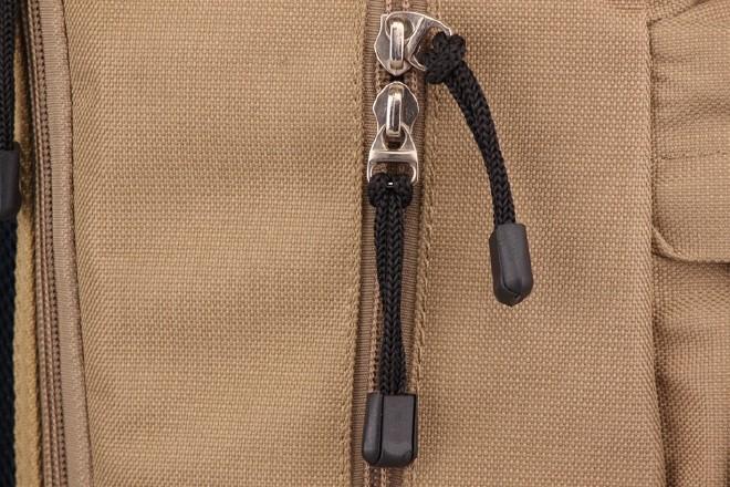 2016新款简约纯色双口袋背包 时尚休闲款运动包学生书包直销示例图33