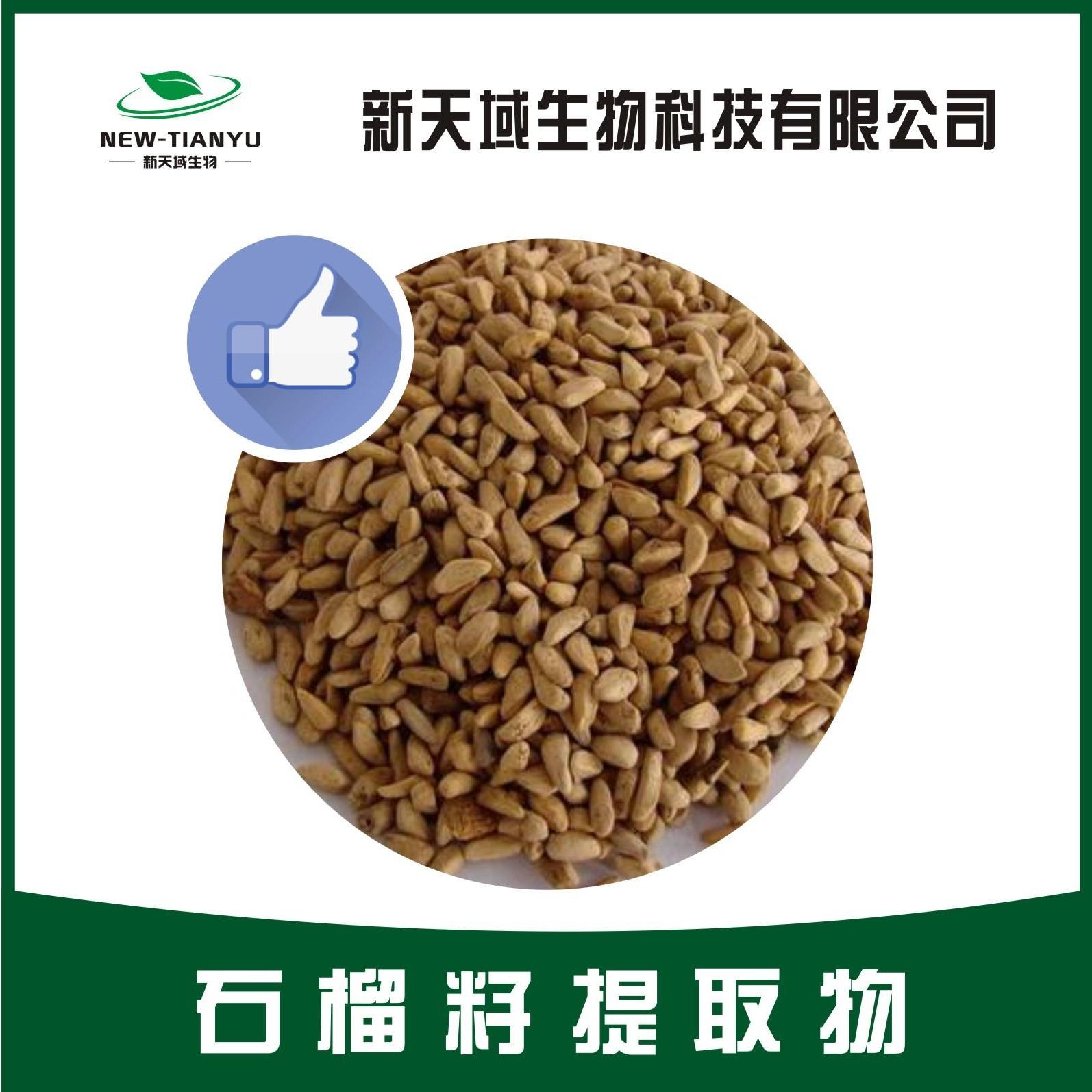 陕西新天域生物 石榴籽提取物 石榴籽浓缩喷雾干燥粉 厂家现货供应