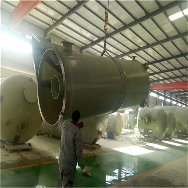 溧阳玻璃钢化工储罐厂家 厂家直销冲洗水罐 泰州玻璃钢搅拌罐厂家