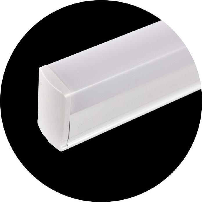 T5方形雙色全塑LED全塑管LED日光pc燈管配件LED日光pc燈管配件圖片