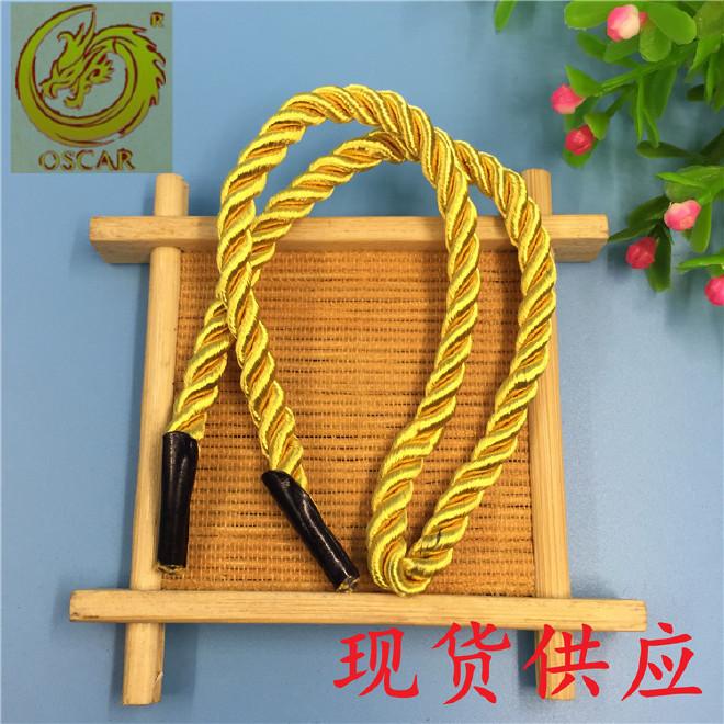 手提绳厂家大量现货供应 涤纶彩色扭绳特多龙手提绳当天可出货图片