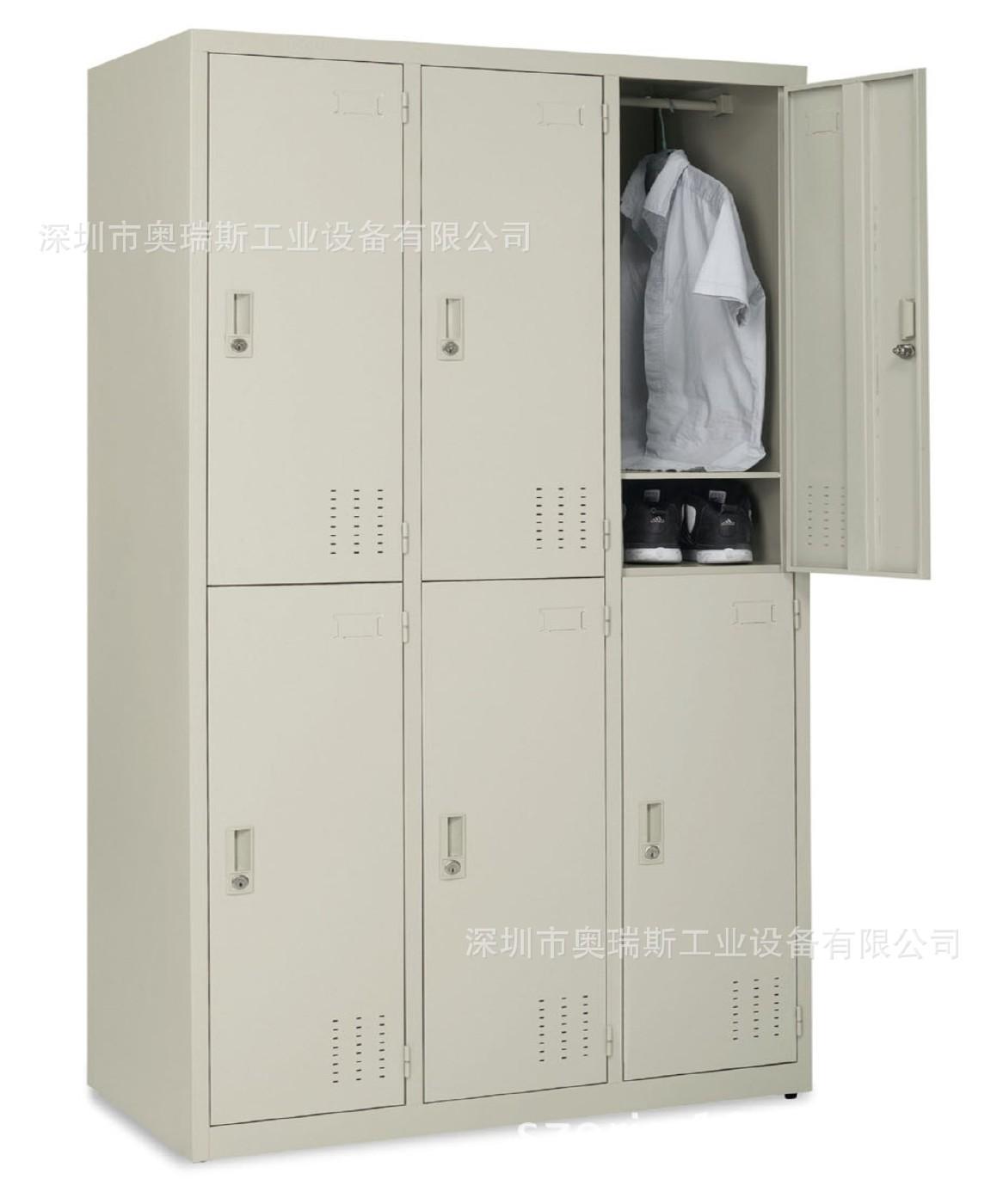 32门铁皮柜厂价直销/广州不锈钢储物柜定做/深圳不锈钢鞋柜厂家