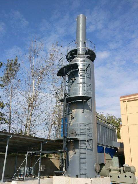 麦芽厂热风炉脱硫除尘 碱法脱硫 一体化除尘脱硫
