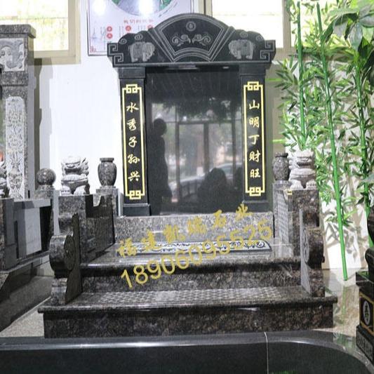廠家批發福建豪華墓碑英國棕墓碑山西黑碑石可出口內銷品質一流