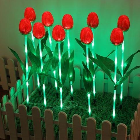 led灯光节造型灯郁金香花灯户外LED图案造型灯景观灯光节LED动物造型灯室外灯光节造型灯高跟鞋/灯光节用品图片