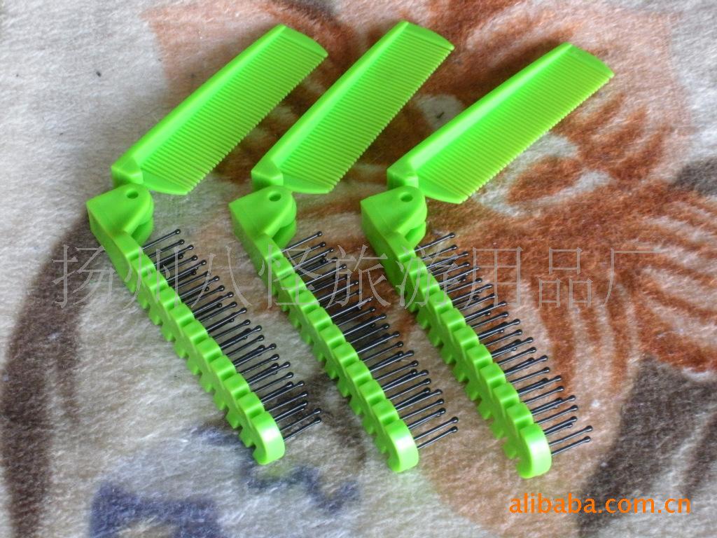 梳子 折叠梳,航空梳,酒店一次性梳子示例图32
