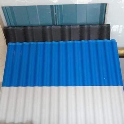 工厂直销APVC瓦 高品质小梯波浪瓦 防噪音墙面PVC塑钢瓦