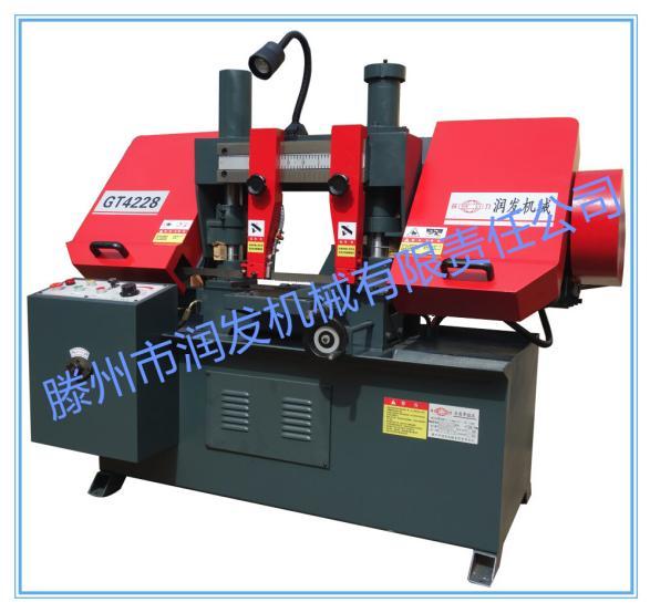 金属带锯床GT4228 液压半自动带锯床 双立柱带锯床 厂家价格示例图1