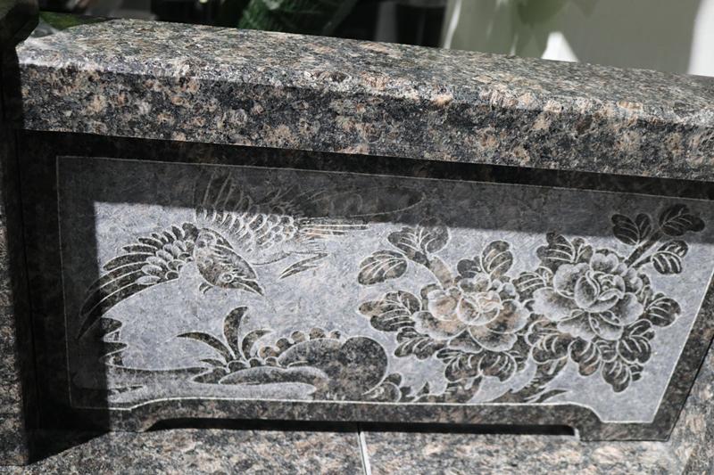 广东传统墓碑豪华碑艺术墓碑家族墓碑厂家直销批发示例图6
