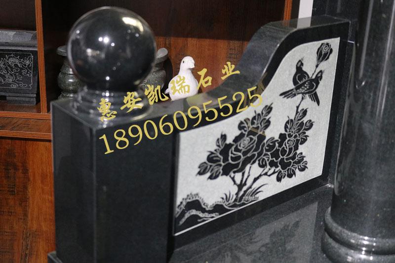 国内传统惠安豪华墓碑订做艺术豪华碑家族墓碑厂家直销示例图7