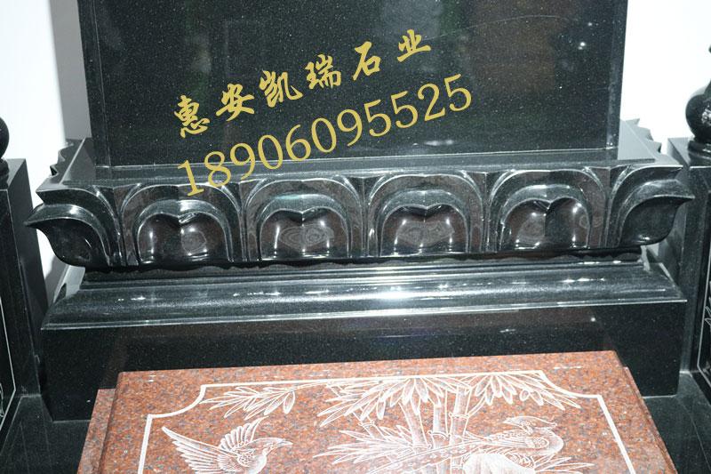 公墓墓碑艺术墓碑厂家直销豪华墓碑家族墓碑可定做示例图2