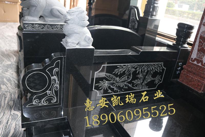 广东墓碑厂家直销印度红山西黑墓碑