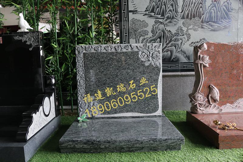 凯瑞墓碑厂家直销艺术墓碑 节地生态碑 个性化墓碑定制示例图1