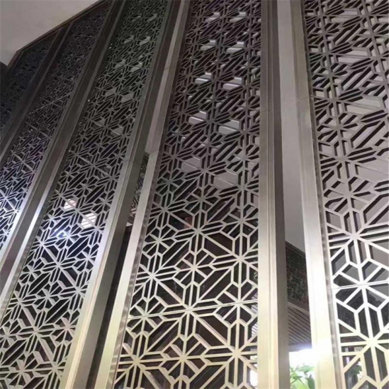 厂家多样化选择:铝合金防盗窗花_中式仿古铝窗花示例图2