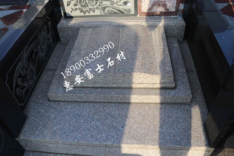 惠安墓碑加工厂供应定制传统墓碑 城市公墓墓碑 新式传统型墓碑示例图7