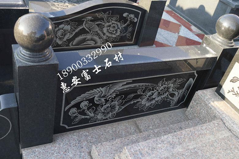 惠安墓碑加工厂供应定制传统墓碑 城市公墓墓碑 新式传统型墓碑示例图5