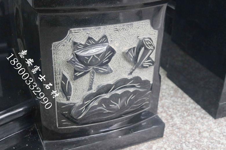 富士石材福建墓碑加工厂FS-082豪华型传统墓碑定制,墓碑厂家直销价格实惠示例图9