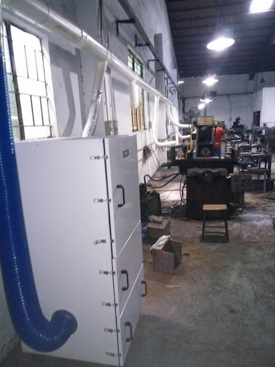 平面磨床集尘机 15kw集尘机 集尘机生产厂家示例图7