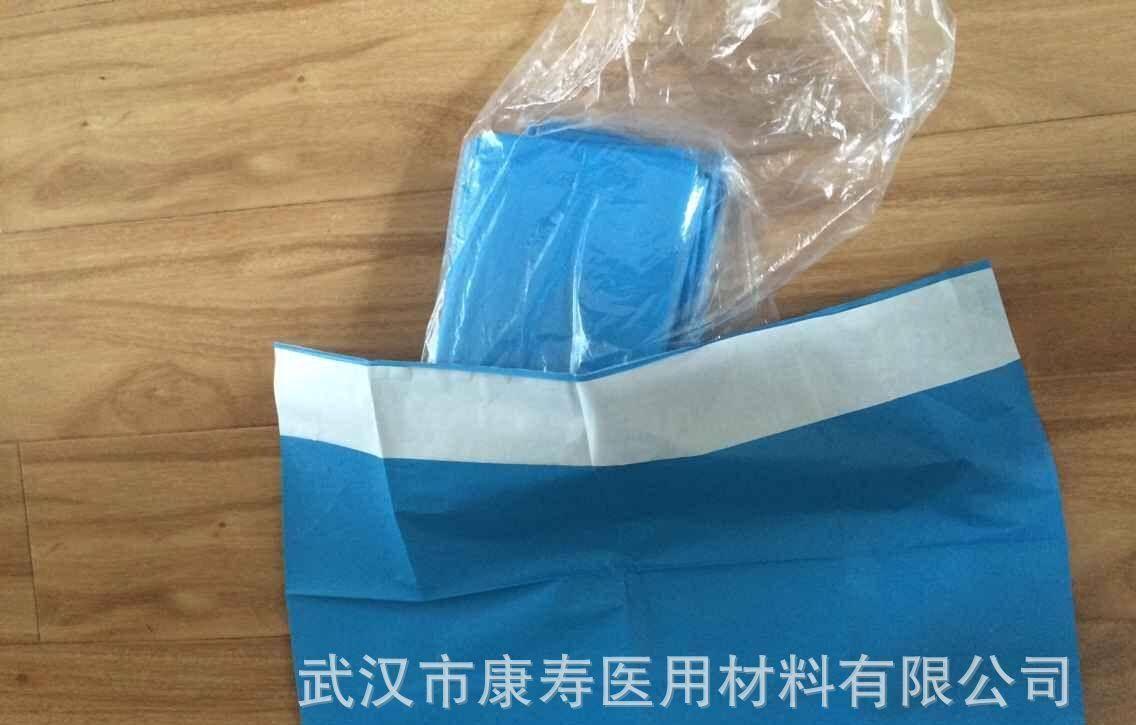 2016最新款一次性浸渍布床单、淋膜复合床单医用、无纺布手术单图片