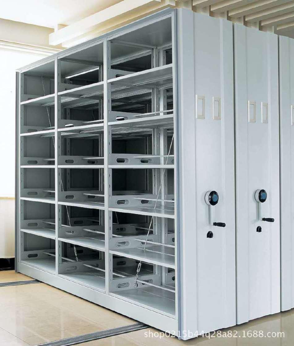 智能档案密集架 图书馆钢制移动式档案柜文件柜 厂家直销