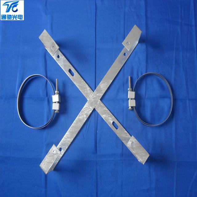 榆林ADSS金具余缆架国标镀锌预留架 光缆余线架内盘式塔用盘缆架