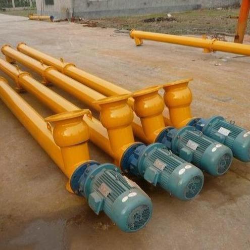 耐高温螺旋输送机 小型水平螺旋给料机LS型管式螺旋输送机定制加工