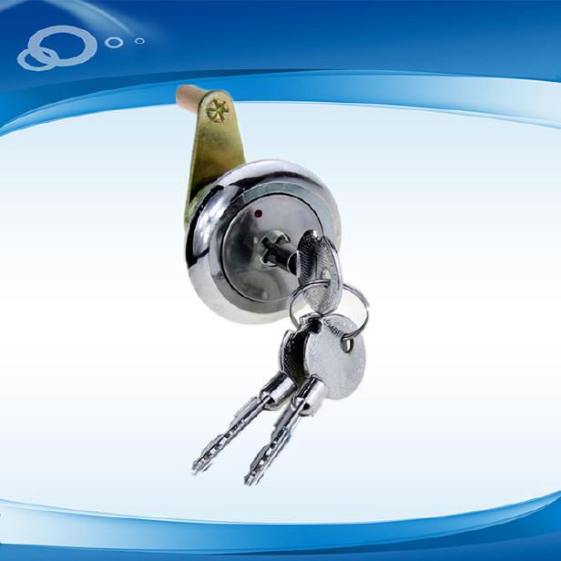 十字钥匙保险柜锁芯锁头 机械保险柜配件十字锁锁 旋钮箱柜锁升级