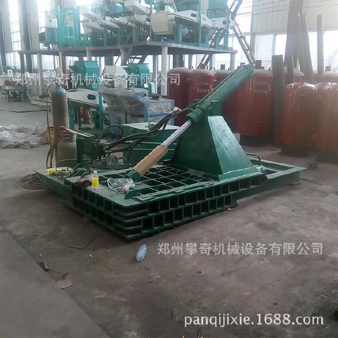 攀奇金属下角料压块机 废旧金属液压压块机 郑州废铁压块机厂家示例图2