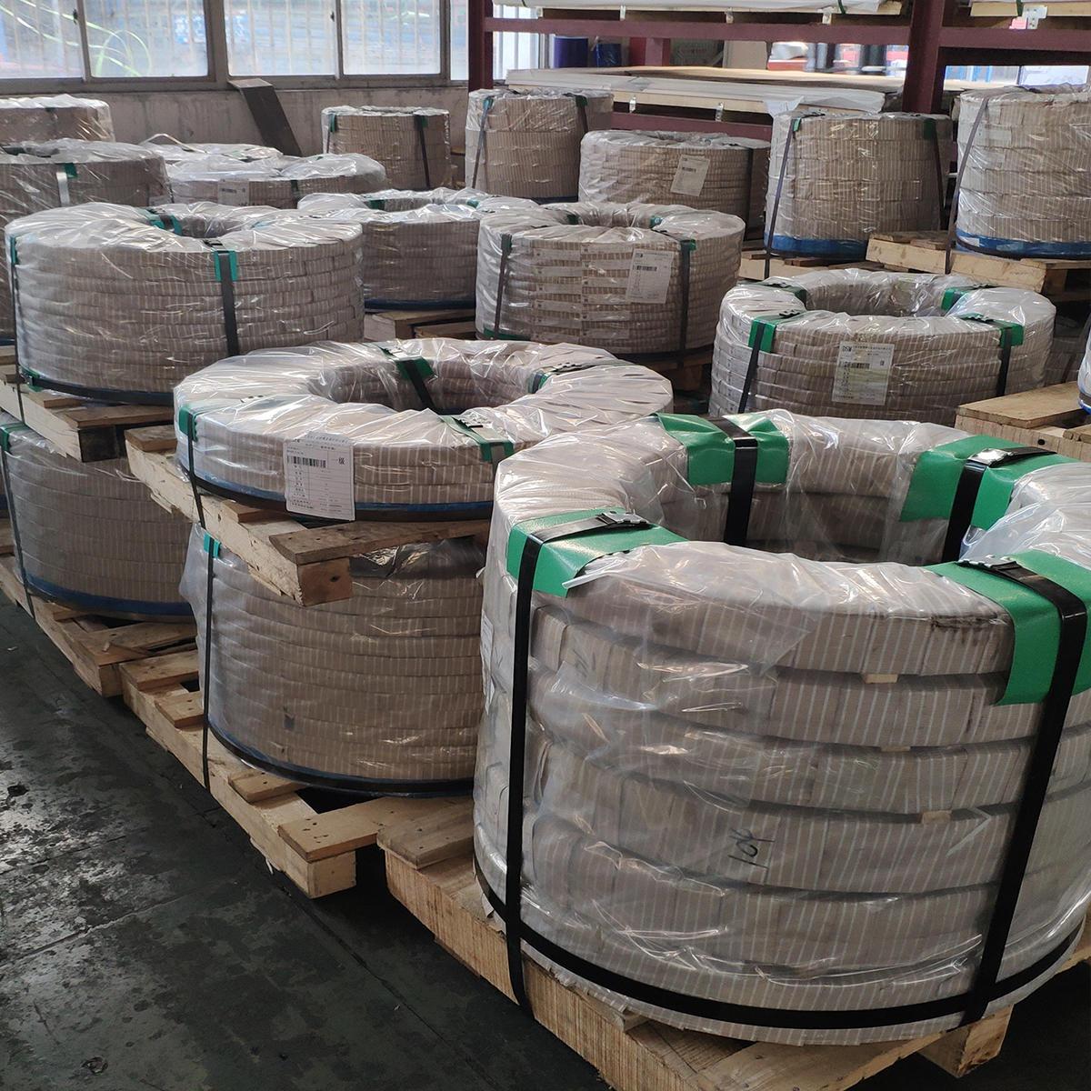 現貨供應太鋼304L不銹鋼帶 耐腐蝕可深沖304L鋼帶 規格齊全圖片