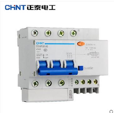 正泰电器 正品 3P+N系列 漏电开关 32A/40A/60A 漏电保护器