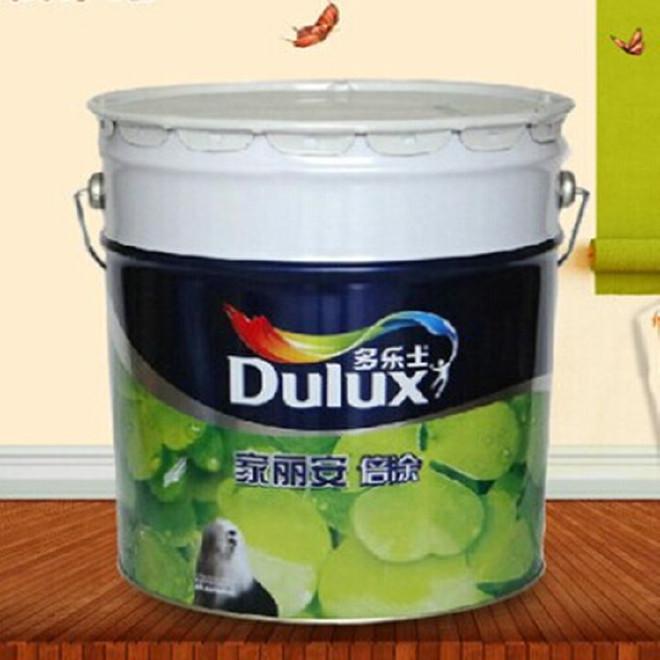 多乐士家丽安净味倍涂内墙白色乳胶漆墙面漆刷新墙面 油漆涂料15L