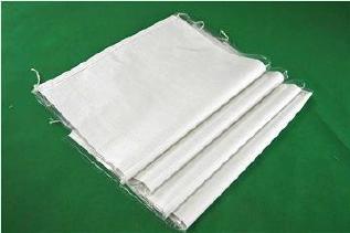 白色中厚覆膜防水��袋40*65�子粉包�b袋再生料防水打包袋批�l示例�D11