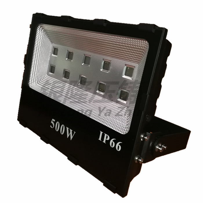 新款仿超黑金刚高品质 LED大功率500W投光灯外壳 泛光灯外壳
