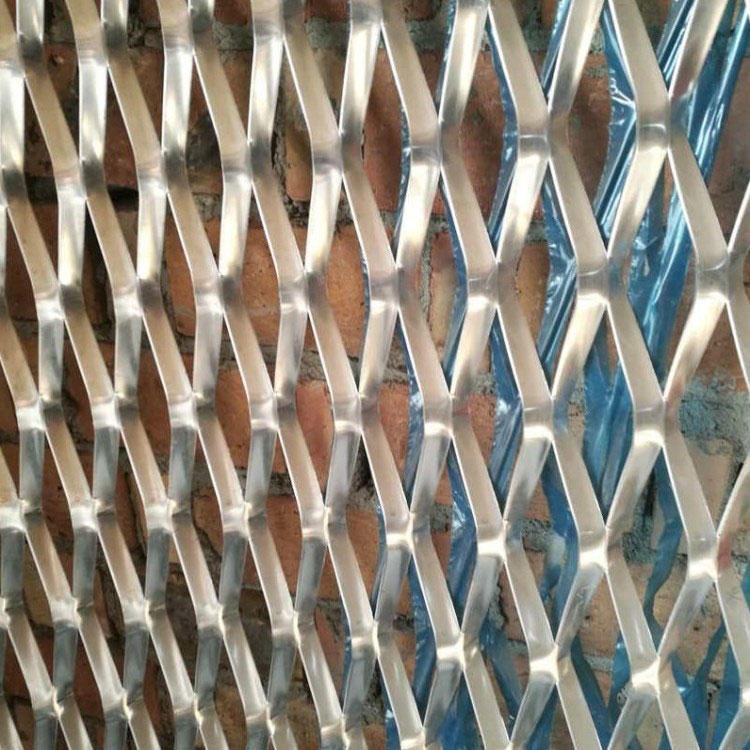 吊顶菱形网 幕墙铝板网 装饰钢板网 照来定制