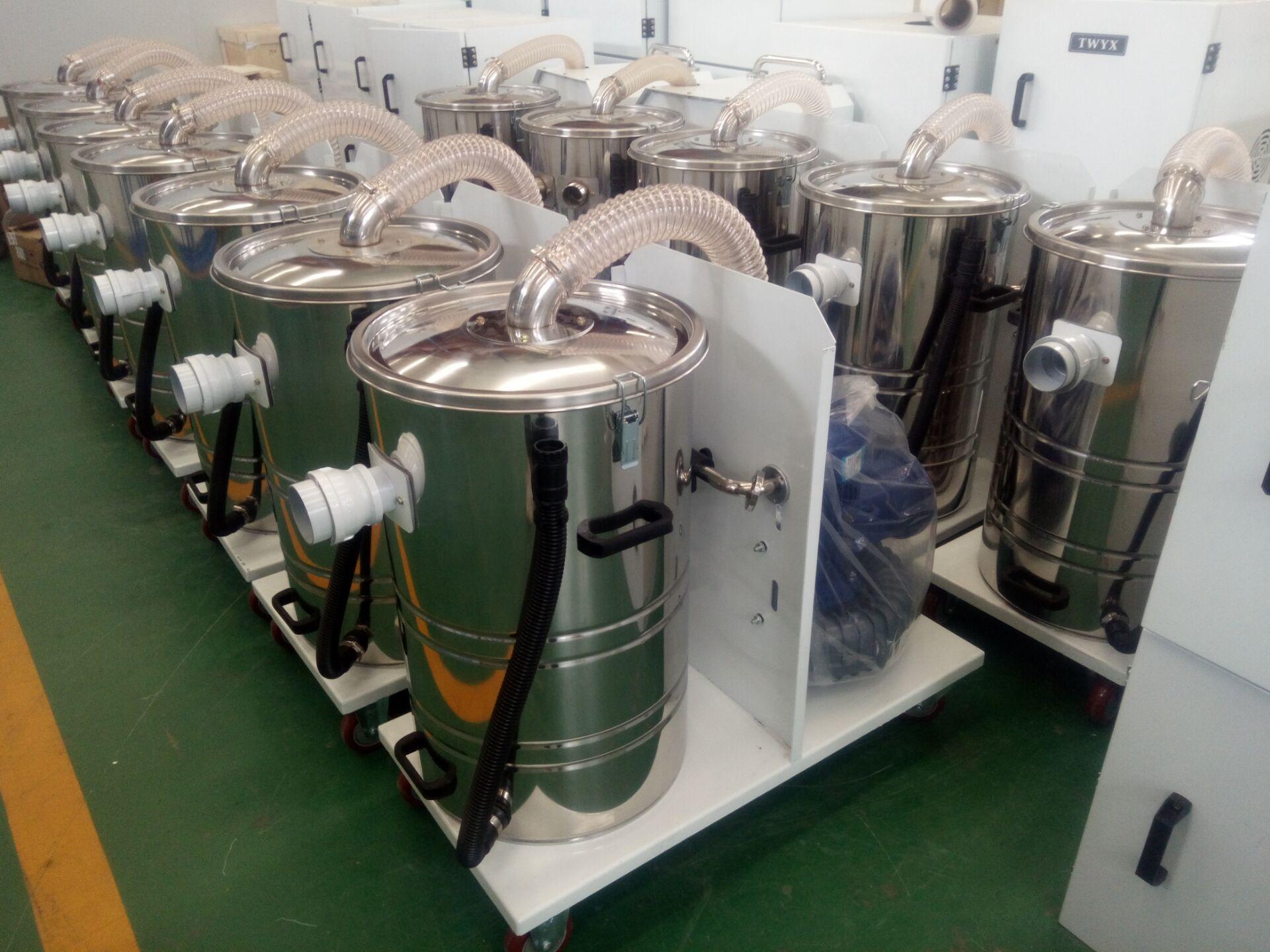生产厂家直销工业移动式吸尘器 集尘机 固定式吸尘器 双桶吸尘器示例图17
