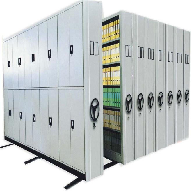 重庆密集架厂家 手动档案密集架 智能电动档案密集架