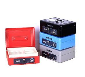 供应手提密码锁收银盒存钱盒电子保密柜保险柜