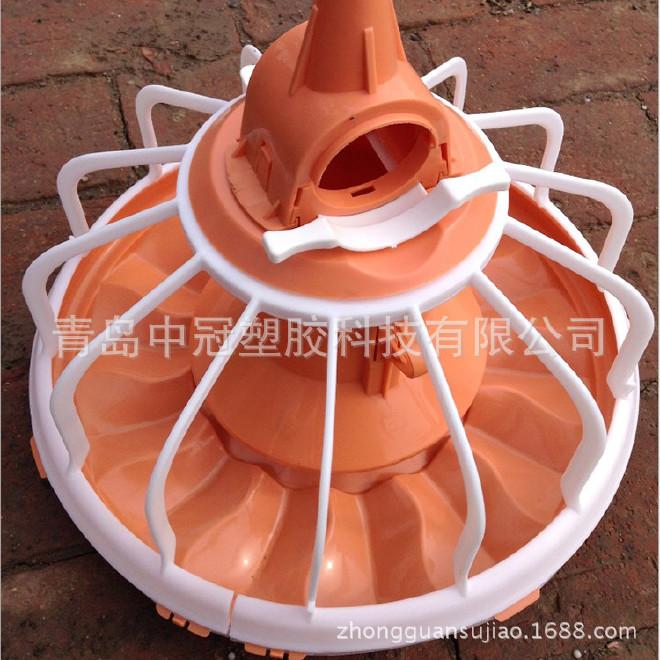 青岛厂家直销自动养鸡料线料盘 养鸡料盘料槽 来样加工定做图片
