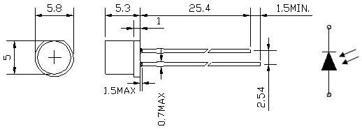 厂家直销环保光敏电阻ekps021d1符合rohs光敏电阻