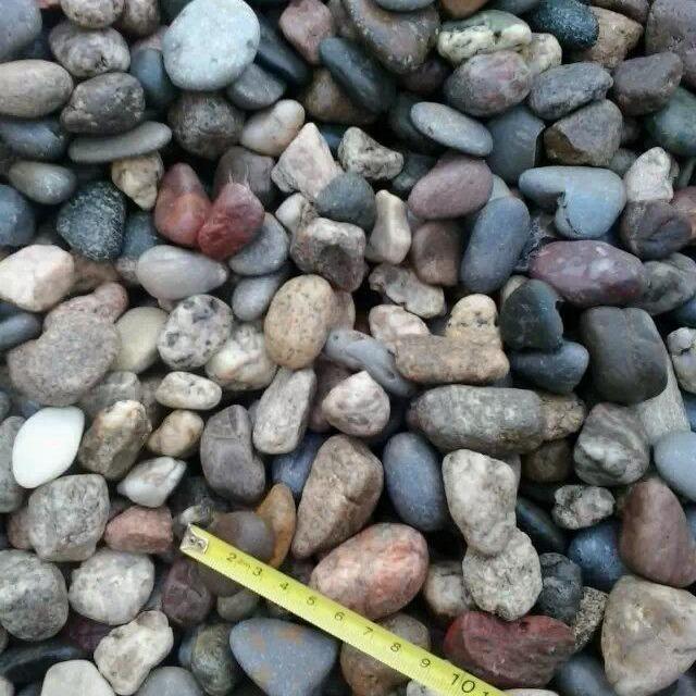 1-2 2-3 1-3公分天然鹅卵石厂家 河北石家庄永顺天然鹅卵石生产基地