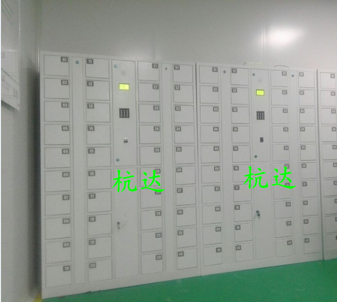 厂家供应杭达指纹手机柜指纹存包柜 电子寄存储物柜1800*1300*280示例图5