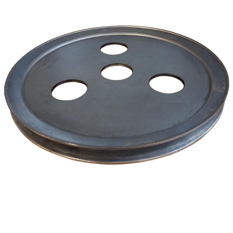 新款v型单槽食品机械皮带轮 平衡度好尺寸精准不易损坏示例图4