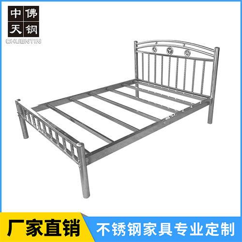 不銹鋼床廠家生產直銷可批發,佛山不銹鋼床,堅固耐用