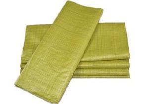 黄色编织袋厂特价80斤粮食袋普黄色蛇皮袋中厚结实塑料编织袋批发示例图10
