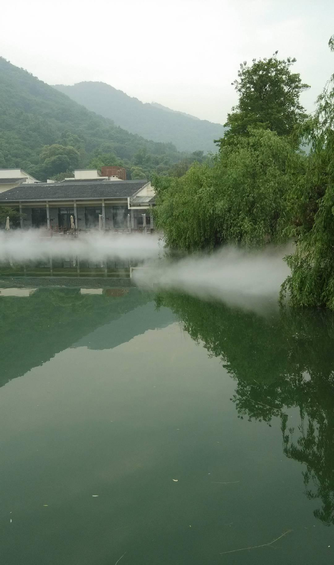 工程喷雾人造雾雾森景观系统喷雾园林喷雾造鑫耀装修公司设计师图片