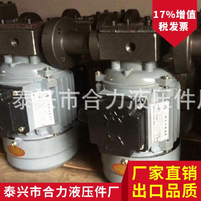 ZCB-1.4转子式油泵 配40W/60W电机 减速机油泵