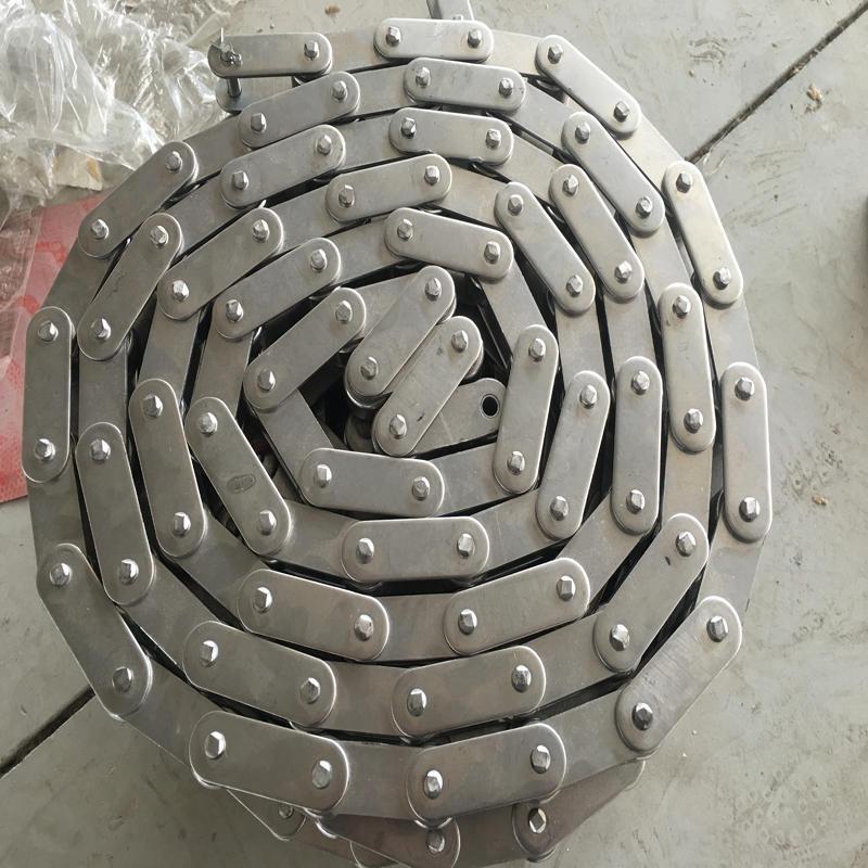 6分不锈钢双节距链条 1寸双节距链条 2寸不锈钢滚子双节距链条