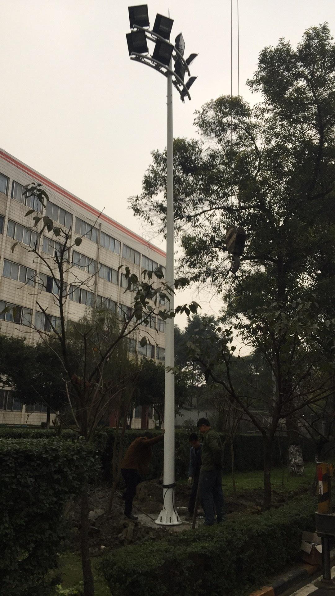 德阳中杆灯生产厂家什邡LED高杆灯批发示例图4