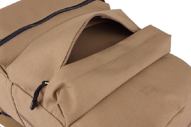 2016新款简约纯色双口袋背包 时尚休闲款运动包学生书包直销示例图35